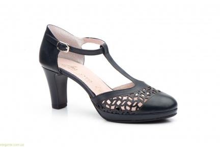 Жіночі туфлі на каблуку ANNORA1 сині