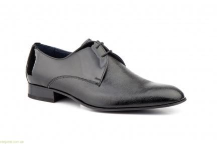 Чоловічі туфлі дербі CARLO GARELLI чорні