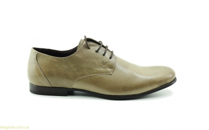 Чоловічі туфлі шкіряні BECOOL сіро-коричневі 16a6c58ca82d5