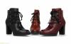 Женские ботинки с шнурками BDA
