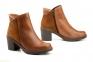 Жіночі черевики на каблуку JAM колір нат.шкіри