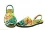 Жіночі босоніжки абарки MENORQUINAS4 багатобарвні