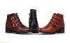 Женские ботинки с пряжками BDA